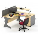 High Point Nine - Meja Kantor Oxford Workstation-1