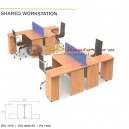 Grand Furniture Diva - Shared Workstation