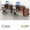 Vip S Series Office Desk With Drawer Set 2