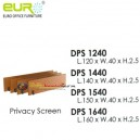 Privacy Screen Euro - DPS 1640